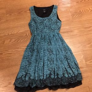 Rue21 Nylon/Lace Dress. Super cute!!
